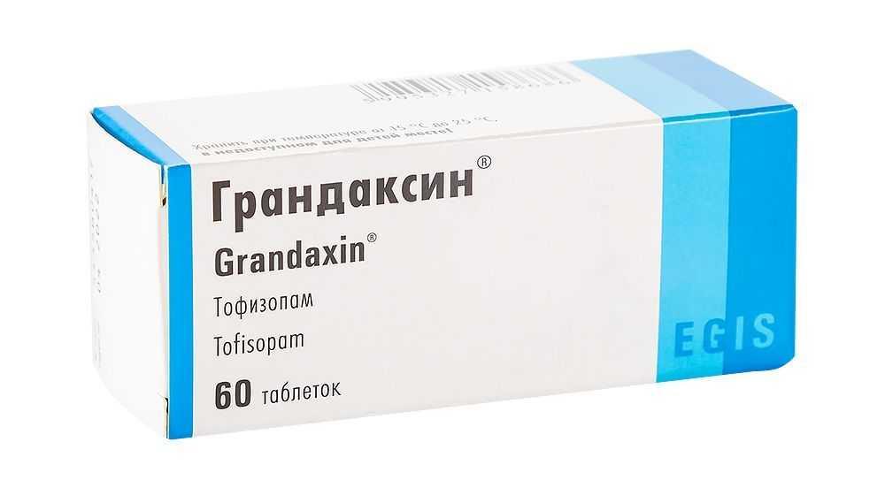 Грандаксин - инструкция по применению, отзывы о грандаксине