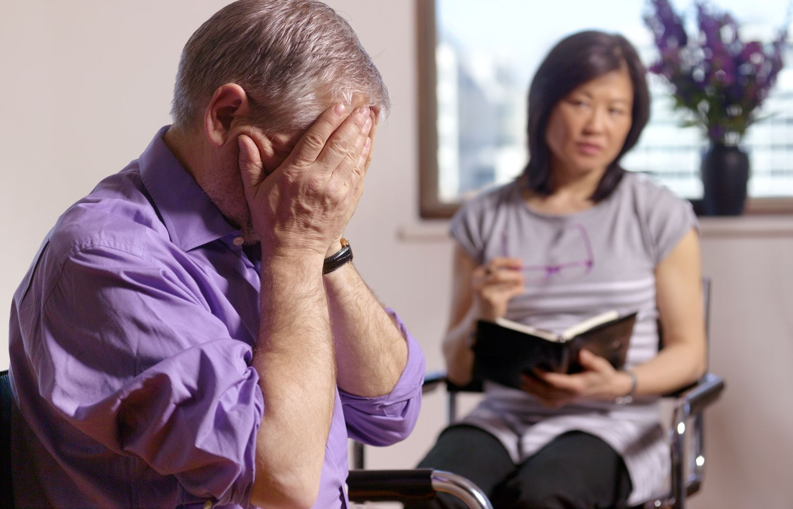 Психотерапия при депрессии