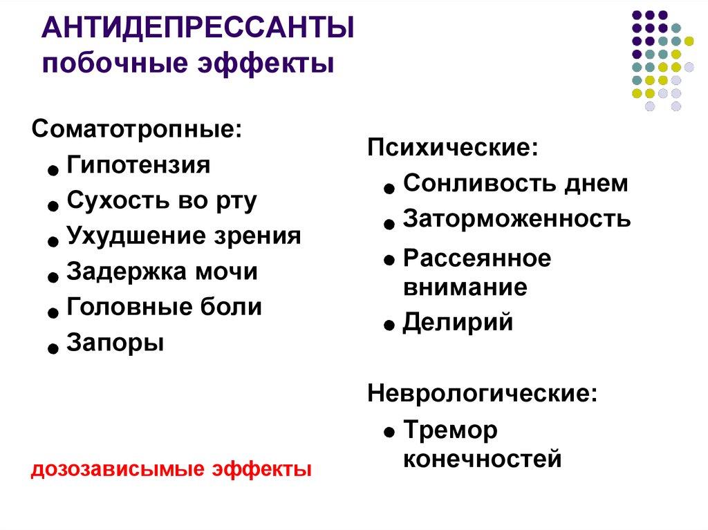 Сколько длится синдром отмены антидепрессантов? - sammedic.ru