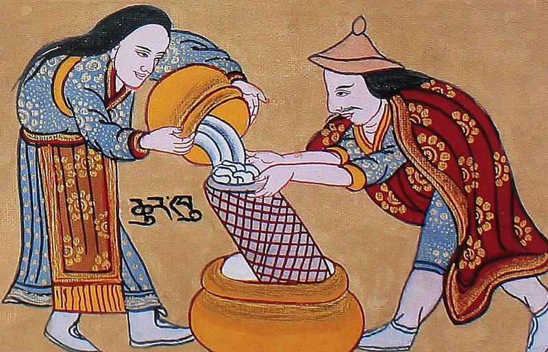 Суть и методы лечения в тибетской медицине чжуд-ши